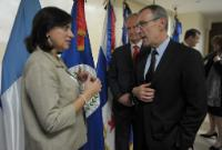 Visit of Andris Piebalgs, Member of the EC, to El Salvador