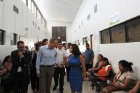 Visite d'Andris Piebalgs, membre de la CE, à l'El Salvador