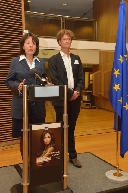 Opening of the 'Fishlove' photo exhibition with the participation of Maria Damanaki, Member of the EC