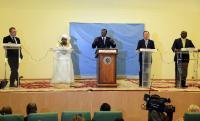 Visit of Andris Piebalgs, Member of the EC, to Chad