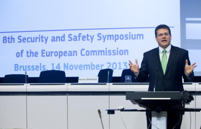 Participation of Maroš Šefčovič, Vice-President of the EC, at the 8th Annual Security and Safety Symposium