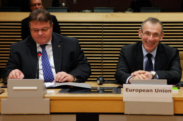 Plenary session of the EU-Central Asia Ministerial meeting, with the participation of Andris Piebalgs, Member of the EC