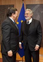 Visit of Plácido Domingo, President of Europa Nostra, to the EC