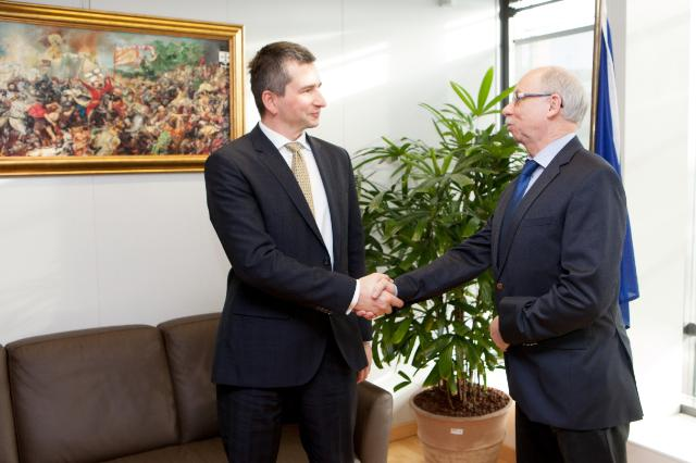 Visit of Mateusz Szczurek, Polish Minister for Finance, to the EC
