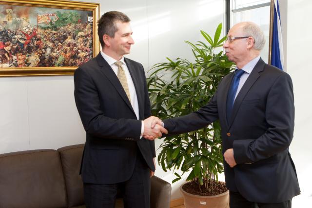 Visit of Mateusz Szczurek, Polish Minister for Finance, to the EC