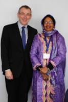 Visit of Mariam Mahamat Nour, Chadian Minister for Economy, Planning and International Cooperation, to the EC
