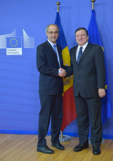 Visit of Antoni Martí Petit, Head of Government of the Principality of Andorra, to the EC