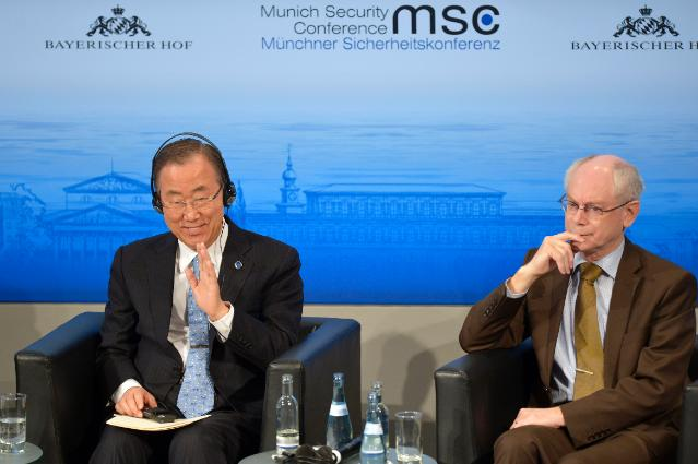 Participation of Catherine Ashton, Vice-President of the EC, in the 50th Munich Security Conference