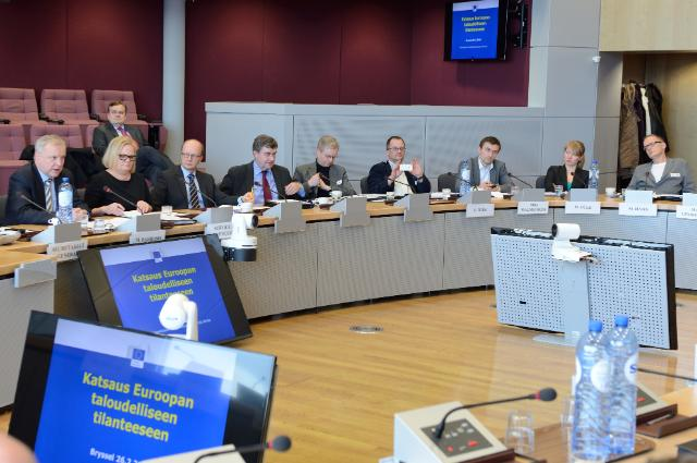 Visit of a group of economic journalists from Finland to the EC