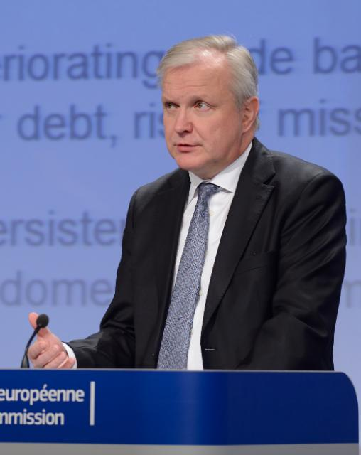 Press conference by Olli Rehn, Vice-President of the EC, on the Winter economic governance package
