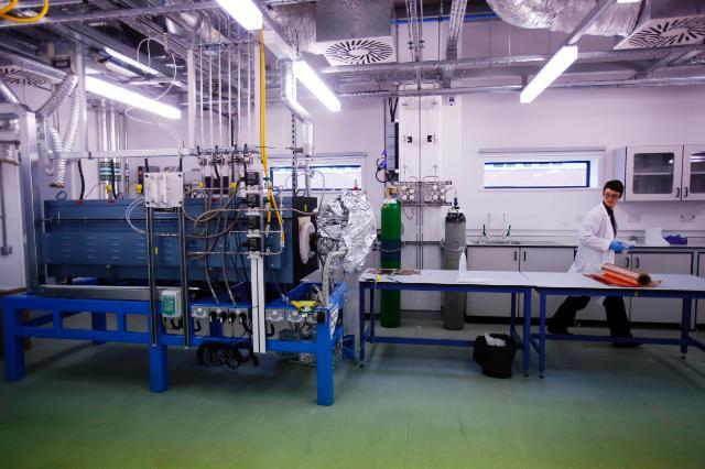 Institut national du graphène (recherche, pôle d'innovation) de  Manchester