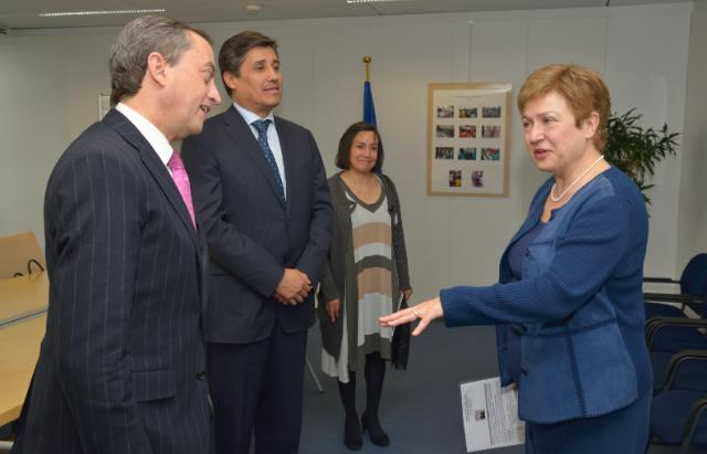 Visit of Juan Manuel Gómez-Robledo, Mexican Deputy Minister for Foreign Affairs in charge of Multilateral Affairs and Human Rights, to the EC