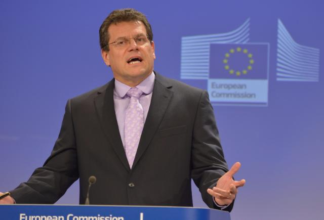 Press conference by Maroš Šefčovič, Vice-President of the EC, on the first successful European Citizens' Initiative
