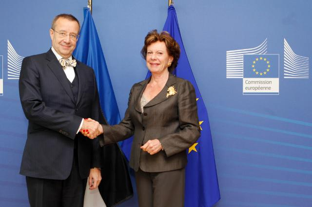 Visit of Toomas Hendrik Ilves, President of Estonia, to the EC
