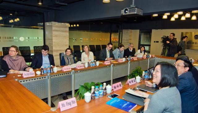 Visit by Connie Hedegaard, Member of the EC, to China