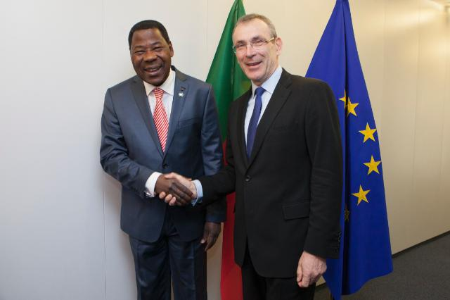 Visit of Boni Yayi, President of Benin, to the EC