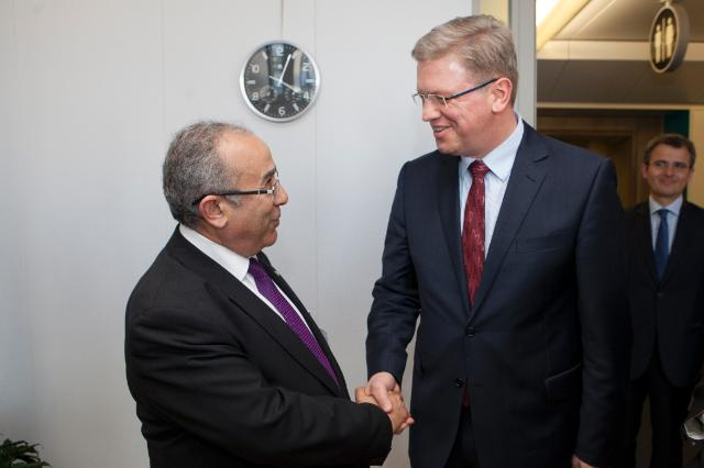 Visit of Ramtane Lamamra, Algerian Minister for Foreign Affairs, to the EC