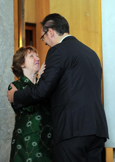 Visit of Catherine Ashton, Vice-President of the EC, to Serbia