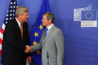 Participation of Dacian Cioloş, Member of the EC, at an informal working dinner on the TTIP, followed by a joint press conference with Tom Vilsack, US State Secretary for Agriculture