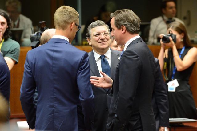 Réunion spéciale du Conseil européen de Bruxelles, 16/07/14