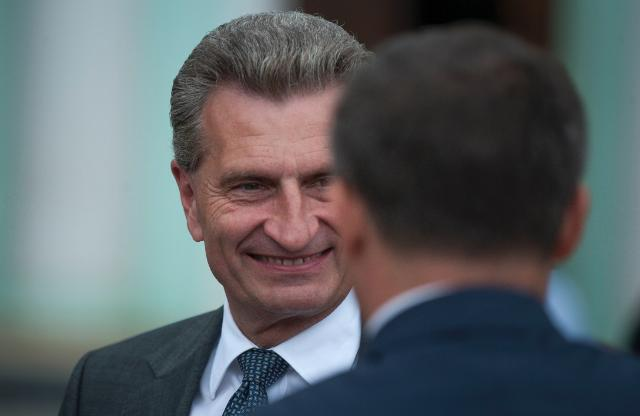 Visit of Günther Oettinger, Vice-President of the EC, to Moldova