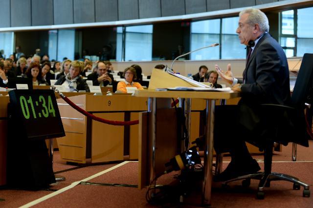 Hearing of Dimitris Avramopoulos, Member designate of the EC, at the EP
