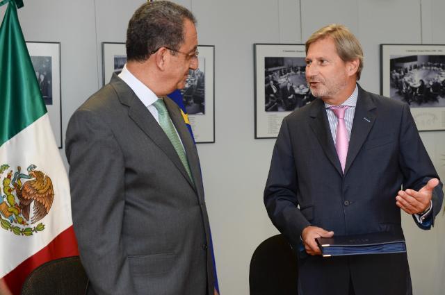 Visit of Rodrigo Alejandro Nieto Enríquez, Mexican Undersecretary for Urban Development and Housing, to the EC