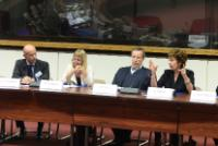 """Illustration of """"Participation of Neelie Kroes, Vice-President of the EC, in the eIDAS Regulation launching event"""""""