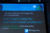 The wallpaper of the Conference on EU Energy Policy and Competitiveness