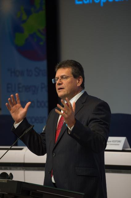 Participation of Maroš Šefčovič, Vice-President of the EC, and Miguel Arias Cañete, Member of the EC, in the Conference on EU Energy Policy and Competitiveness
