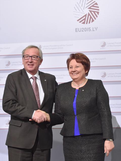 Réunion inaugurale de la présidence lettone du Conseil de l'UE avec la CE
