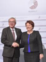 Inaugural meeting of the Latvian Presidency of the Council of the EU with the EC