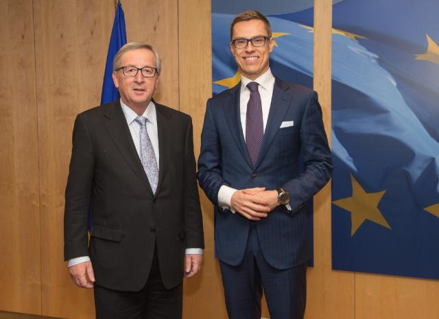 Visit of Alexander Stubb, Finnish Prime Minister, to the EC