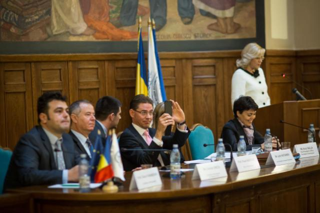 Visit of Jyrki Katainen, Vice-President of the EC, and Corina Creţu, Member of the EC, to Romania