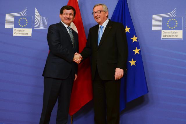 Visite d'Ahmet Davutoğlu, Premier ministre turc, à la CE