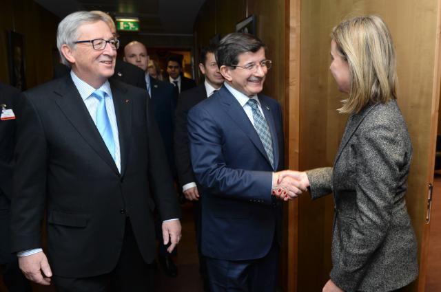 Visit of Ahmet Davutoğlu, Turkish Prime Minister, to the EC