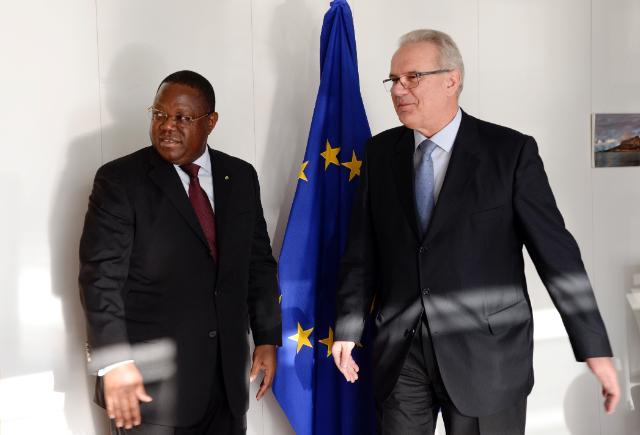 Visit of Emmanuel Issoze Ngondet, Gabonese Minister for Foreign Affairs, Francophonie and Regional Integration, and Régis Immongault, Gabonese Minister for Economy, Promotion of Investments, and Prospective, to the EC
