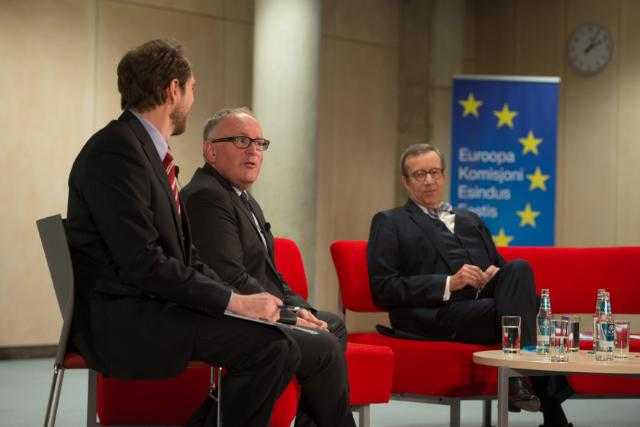 Citizens' Dialogue in Tallinn with Frans Timmermans