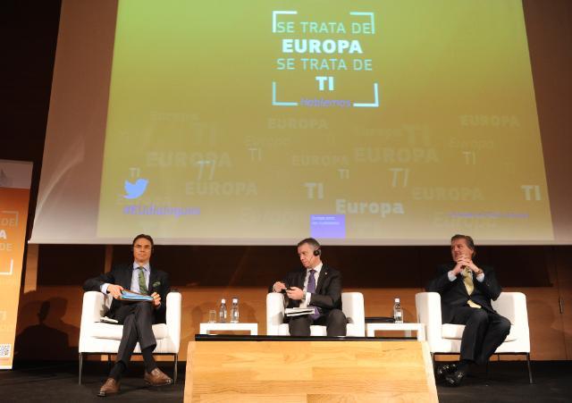 Dialogue avec les citoyens à Bilbao avec Jyrki Katainen