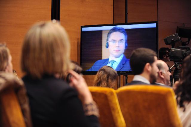 Citizens' Dialogue in Bilbao with Jyrki Katainen