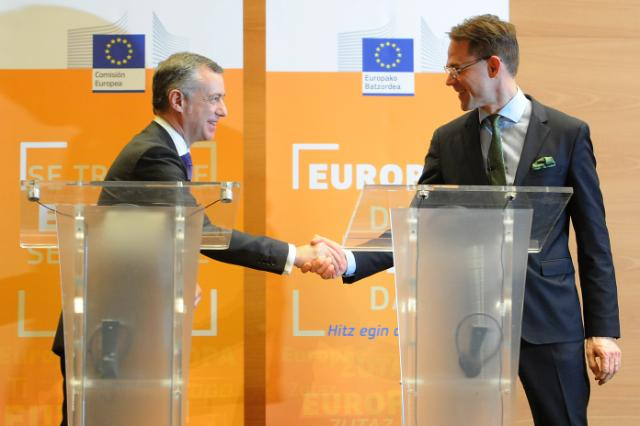 Visit of Jyrki Katainen, Vice-President of the EC, to Bilbao