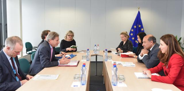 Visit of Suma Chakrabarti, President of the EBRD, to the EC