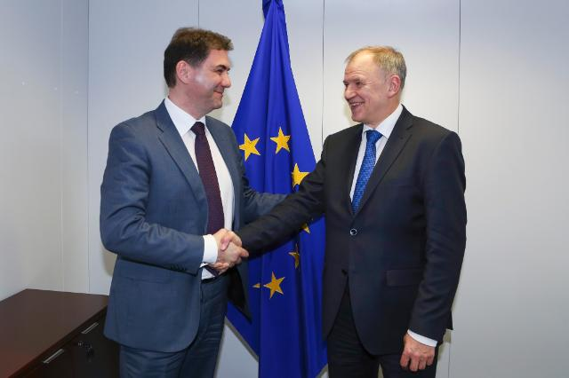 Visit of Petar Ivanović, Montenegrin Minister for Agriculture and Rural Development, to the EC