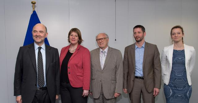 Visit of Heather Roy, President of the Platform of European Social NGOs, to the EC