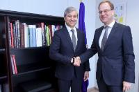 Visit of Jean-Philippe Courtois, President of Microsoft International, to the EC
