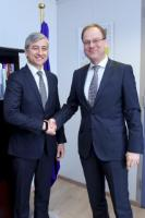 "Illustration of ""Visit of Jean-Philippe Courtois, President of Microsoft International, to the EC"""