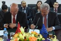 """Illustration of """"Visit by Dimitris Avramopoulos, Member of the EC, to Morocco"""""""