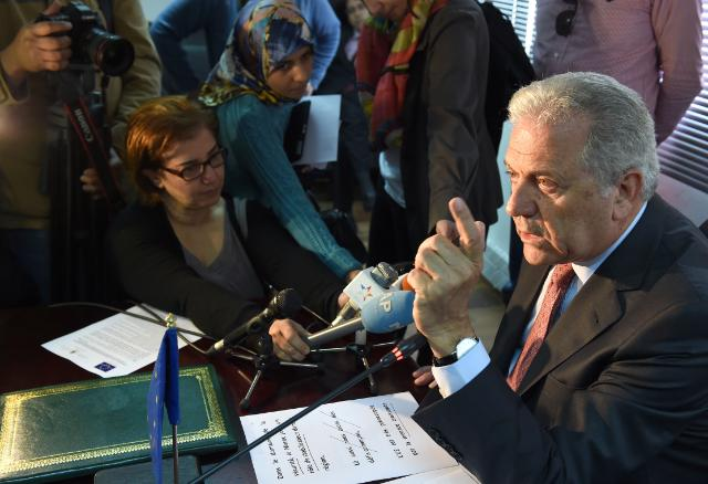 Visit by Dimitris Avramopoulos, Member of the EC, to Morocco