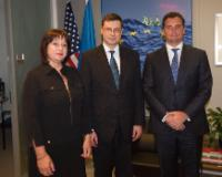 Visit of Valdis Dombrovskis, Vice-President of the EC, to the United States