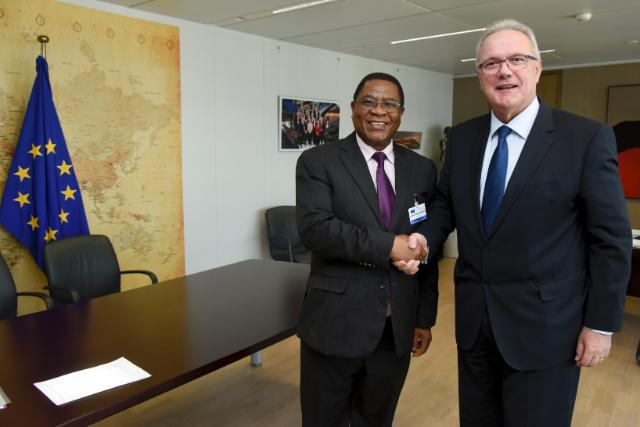 Visit of Sindiso Ndema Ngwenya, Secretary General of Comesa, to the EC